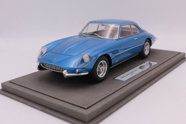 BBR - 1:18 - Ferrari 400 SuperAmerica - 1962 - Color Metal light Blue