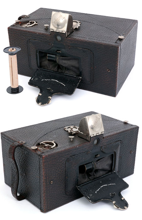 Kodak Panoram Model No. 1 box camera 1894 early panoramic camera.