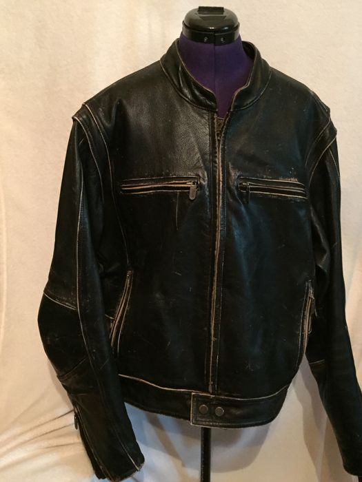 Harley Davidson - Leather motorcycle jacket - size XXL