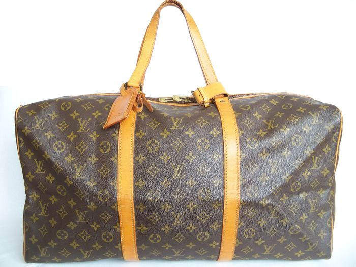 Louis Vuitton - Sac Soup 55  Luggage bag + LV Accessories - *No Reserve price*