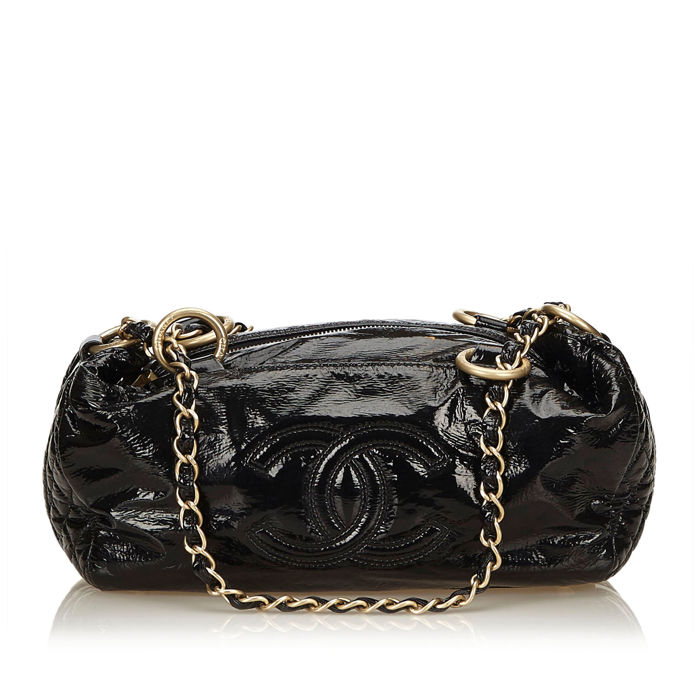 Chanel - Patent Leather Handbag