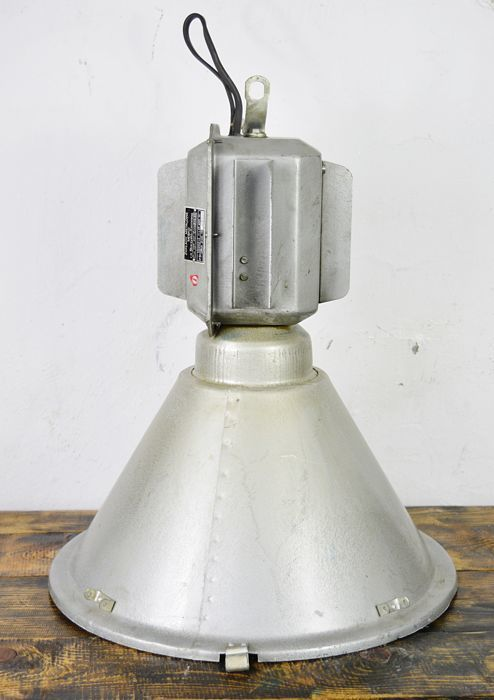 Unknown designer - large industrial lamp