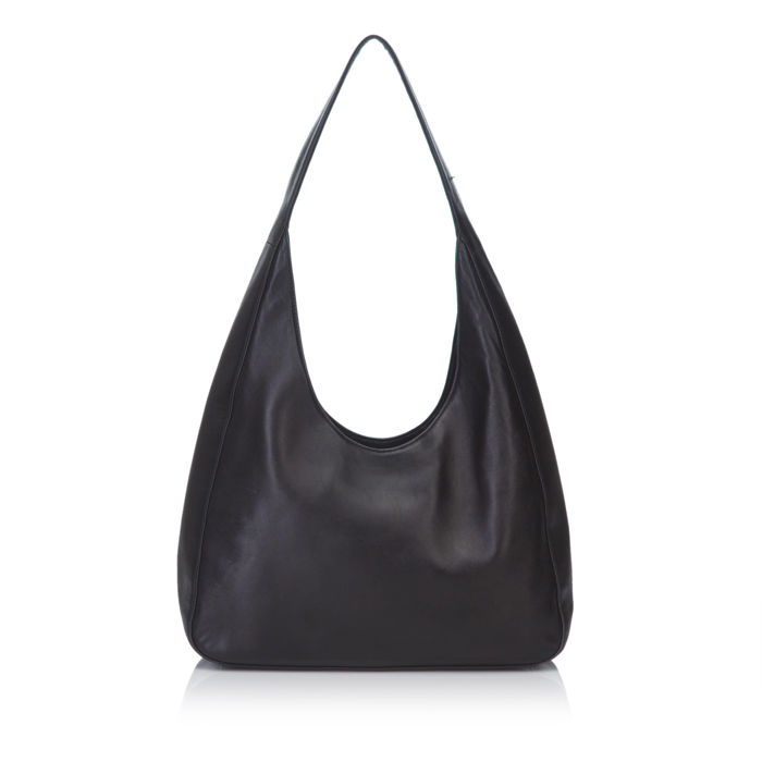 Prada - Leather Hobo Bag