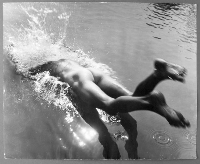 Jan Beran (1913-2003)  - Le plongeon