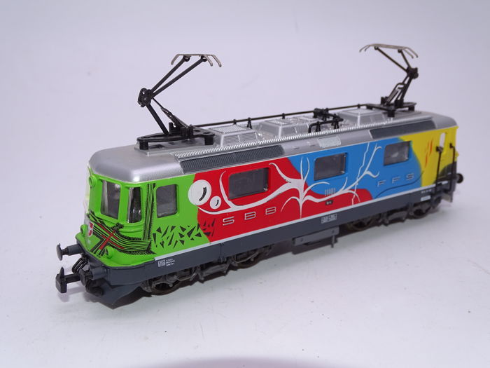 Jouef H0 - 8868 - Electric locomotive - Re 4/4 II locomotive 11181 - SBB-CFF