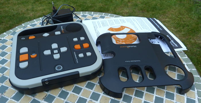 Victor Reader Stratus4 Daisy MP3 player + two audio books and a