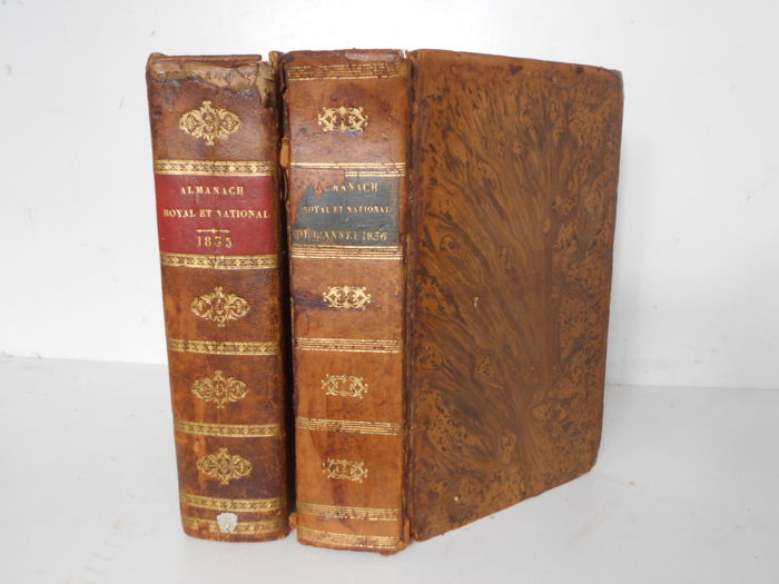 Almanach Royal et National An M DCCC XXXV et  M DCCC XXXVI - 1835/1836