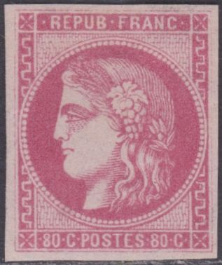"France 1870 - Cérès, ""Bordeaux"" - Yvert no.: 49"