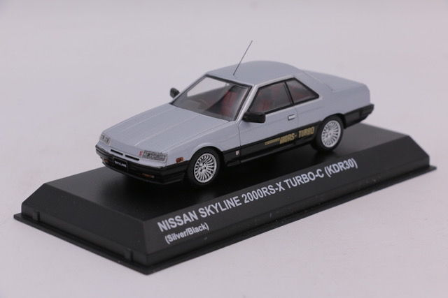 Kyosho - 1:43 - Nissan Skyline 2000RS-X Turbo - Color gris