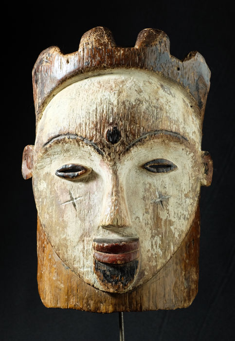 Exceptional old mask - VILI - Gabon
