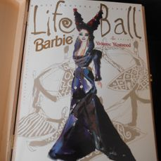 Barbie, Vivienne Westwood Life Ball Barbie, Limited Edition, very rare 283/1000