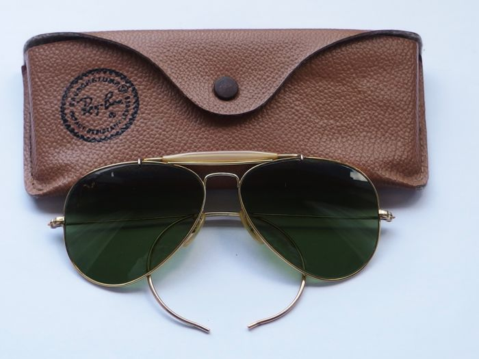 ray ban aviator vintage outdoorsman