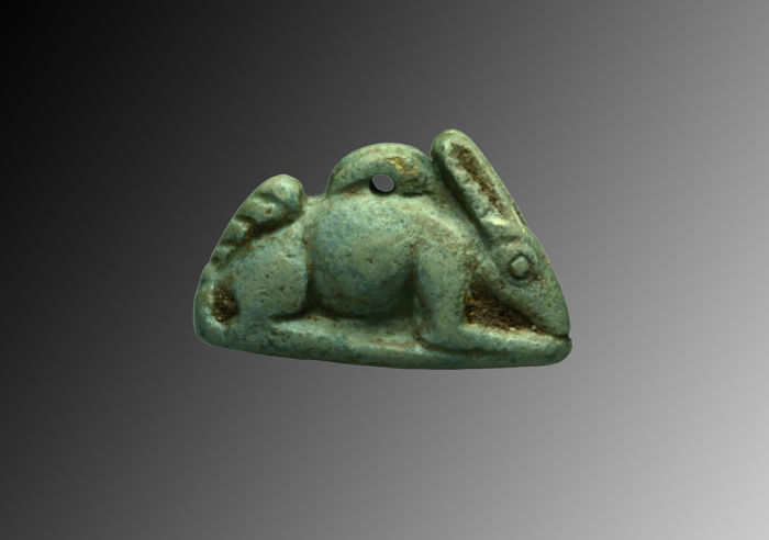 Egyptian amulet of a hare - 2,8 cmE