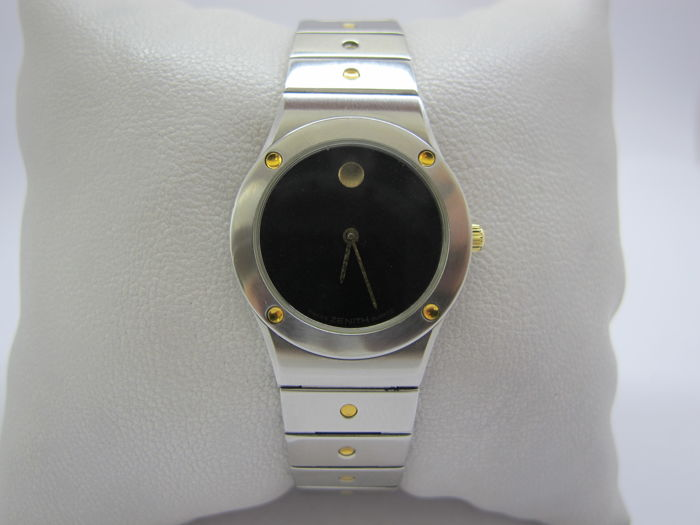 Zenith -  59.0010.051 vintage pacific steel & gold for lady - Women - 1980-1989