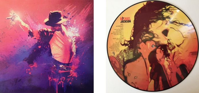 "Michael Jackson Very Limited Edition Picture Disc ""Rare / Unreleased"" In Full Colour Sleeve"