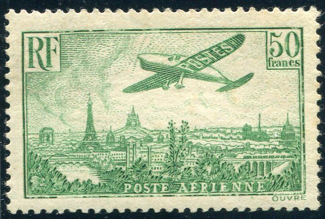 France 1936 – Air mail – Yvert no 14