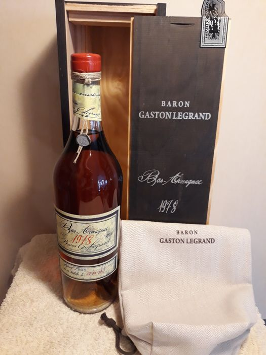 1978 Baron Gaston Legrand (1 bottle, 0,70l) Bas Armagnac
