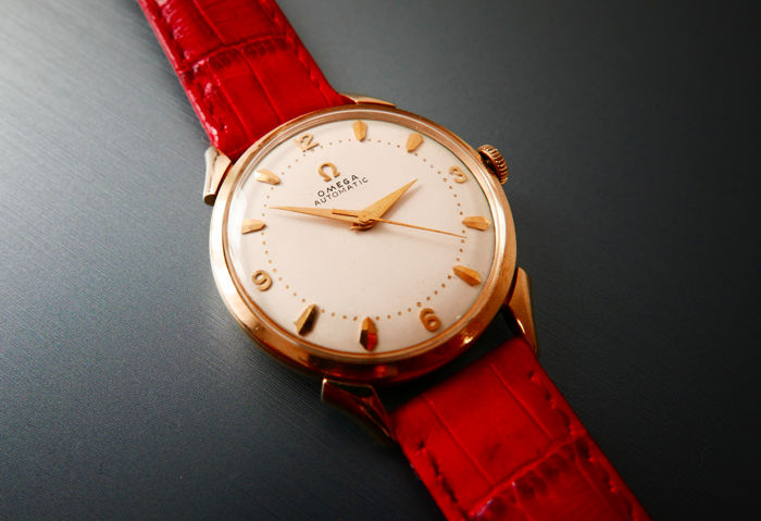 Omega - Bumper/Automatic 14k / 585 Solid Gold  - Men - 1950-1959