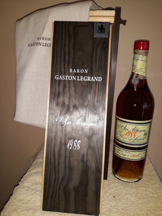 1988 Baron Gaston Legrand (1 bottle, 0,70L) Bas Armagnac