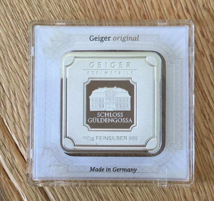 Geiger - 100 g - 999,9 - Minted - Sealed