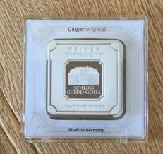 Geiger - 100 g - 999.9 - Minted -Sealed