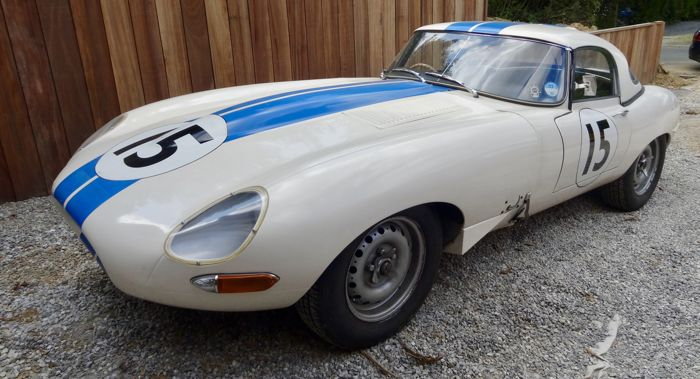 Jaguar - E-Type Lightweight replica - 1976