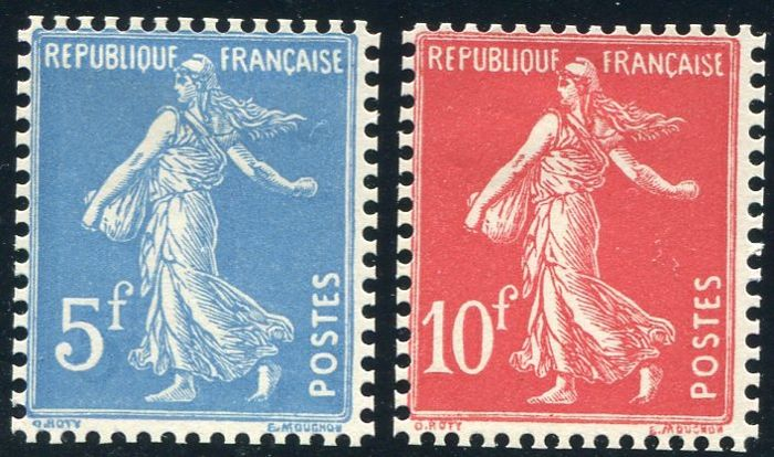 France 1927 - Strasbourg Universal Exhibition - Yvert no.  241/42