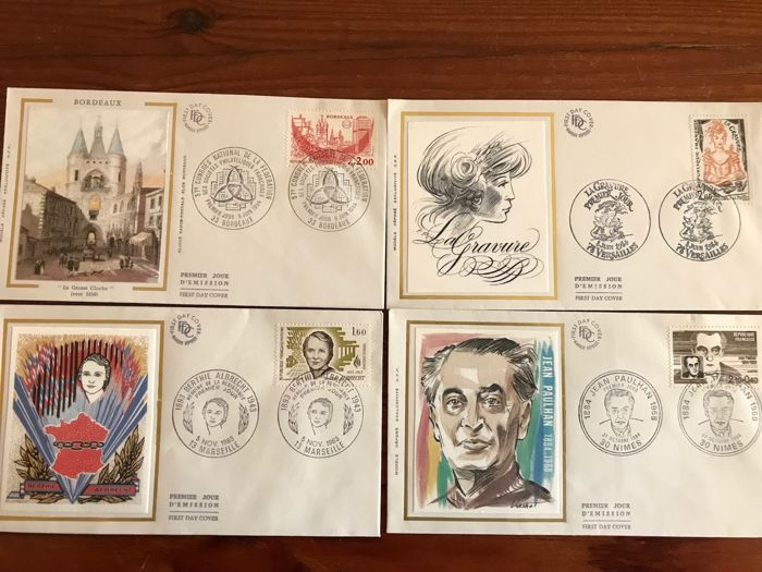 Europe - Collection first day enveloppes mainly