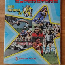 Panini - Sport Superstars Euro football 1982 - Complete album