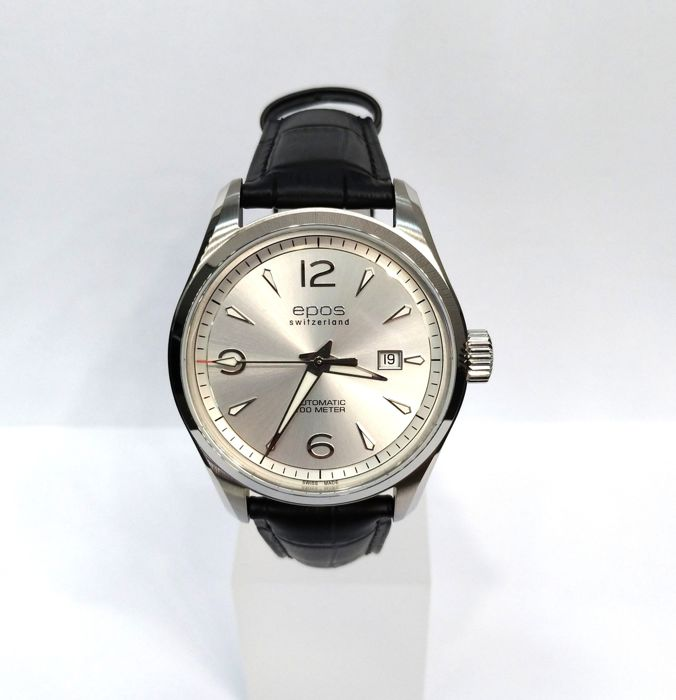 Epos - Passion 3401 Men's Automatic - 3401/F-SLV-ARAB - Heren - 2011-heden