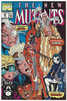 New Mutants #98 - The Beginning of the End - 1x SC - first printing - 1991