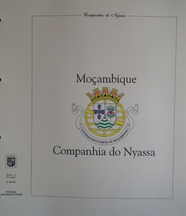 Niassa Company, Quelimane, Quionga, Tete, Lourenço Marques, Zambezia, Portuguese Africa - Collection of preprinted sheets