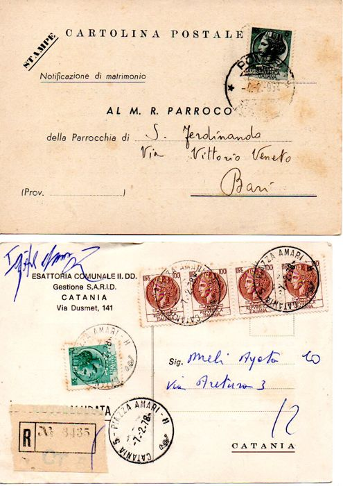 Italy, Republic 1954/1993 - Collection of 440 items