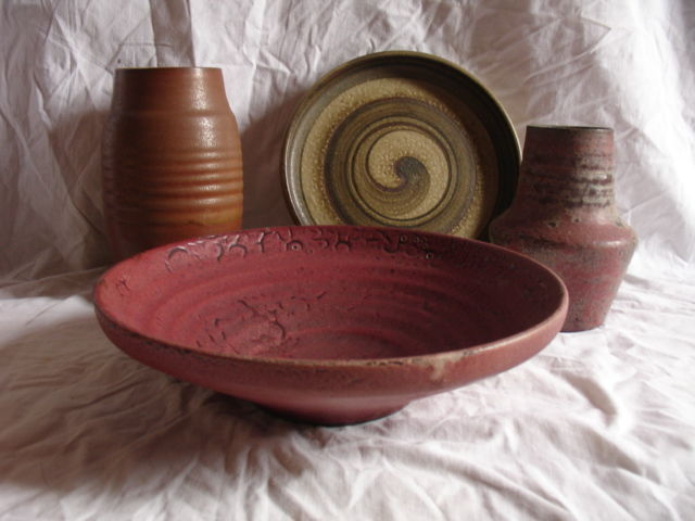 Mobach Two Large Vases And Two Bowls Catawiki