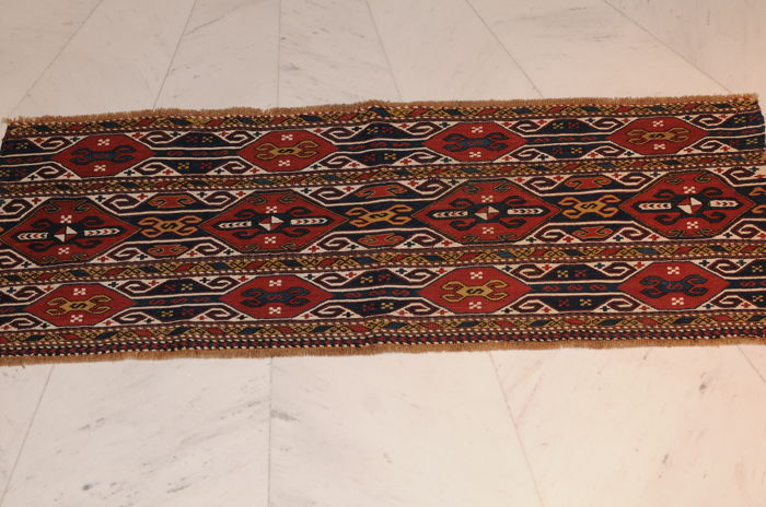 Mafrash, Schahsavan, antique, ca. 112 x 38 cm