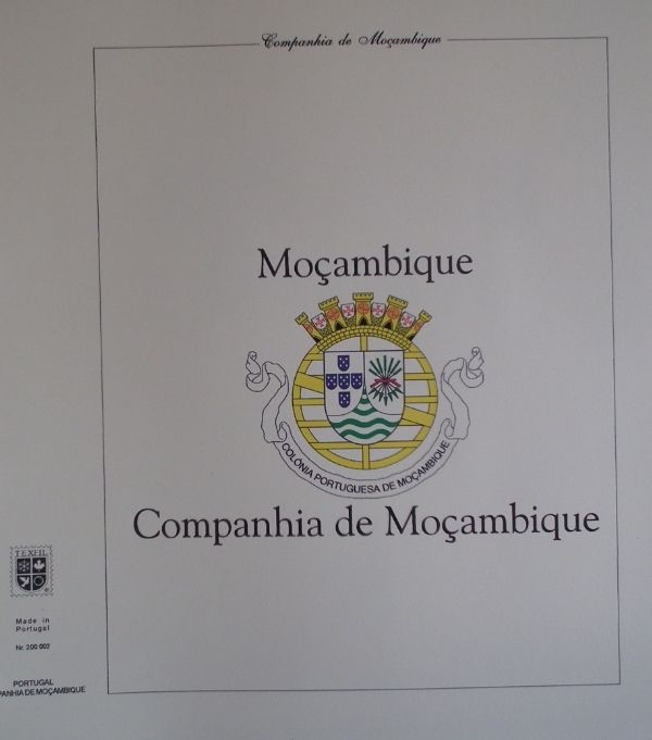 Mozambique Company - Collection of preprinted sheets