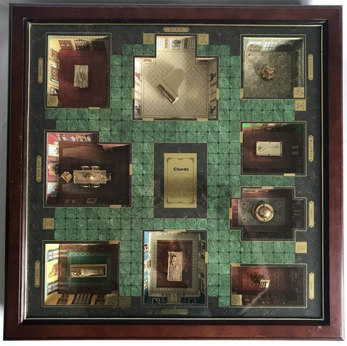 Franklin Mint CLUEDO - The Collector`s Edition