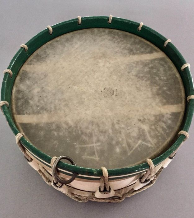 A very beautiful rope drum