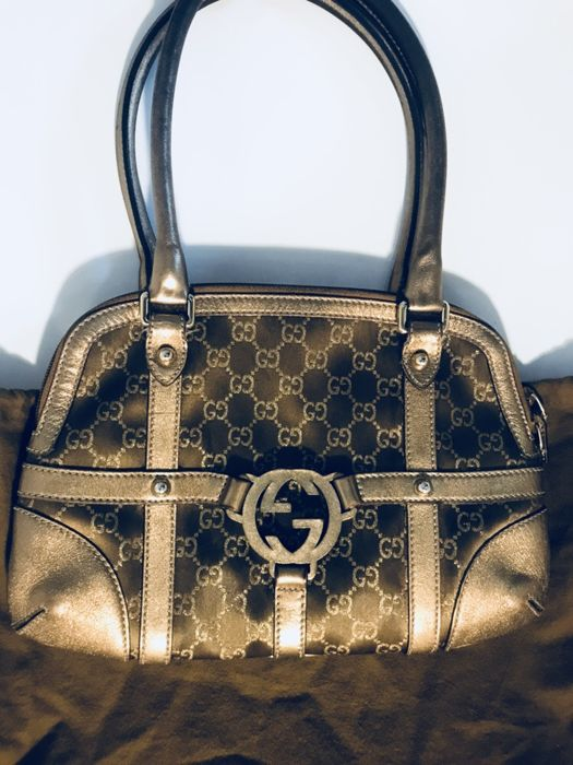 Gucci - Interlocking GG Handtas