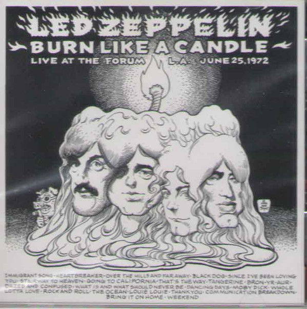 Led Zeppelin -Burn Like A Candle 3CD