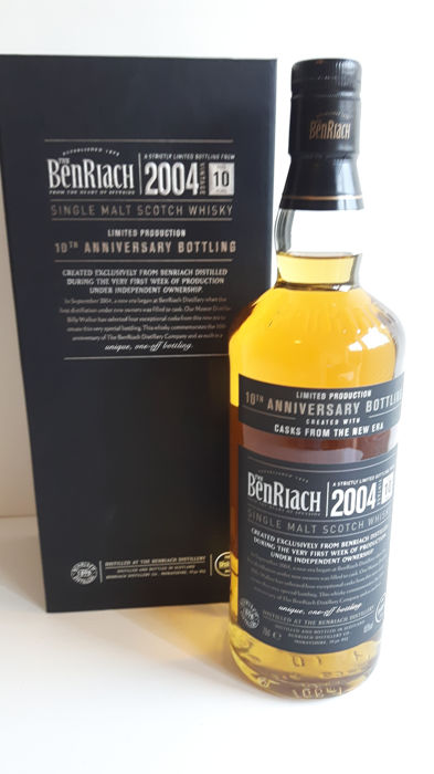 BenRiach 2004 10 years old - 10th Anniversary