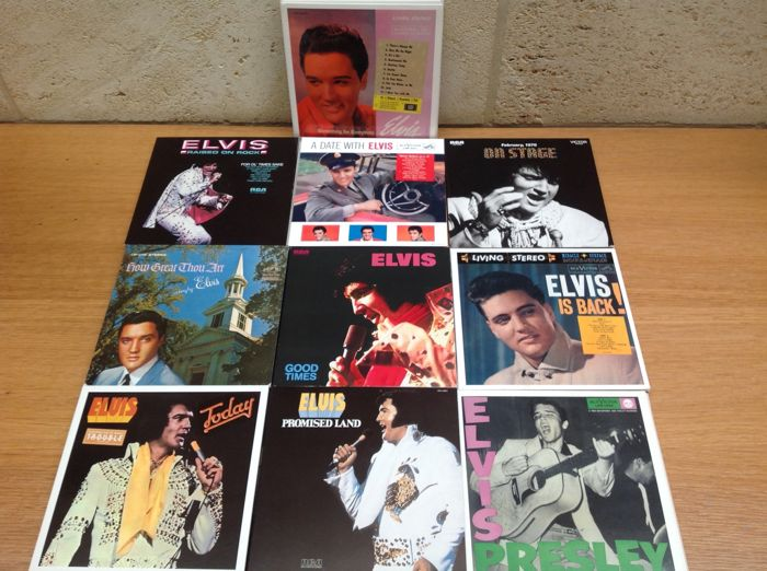Elvis Presley/ 10 FTD Label CD boxsets with Booklet: total 20 CD's -  Catawiki