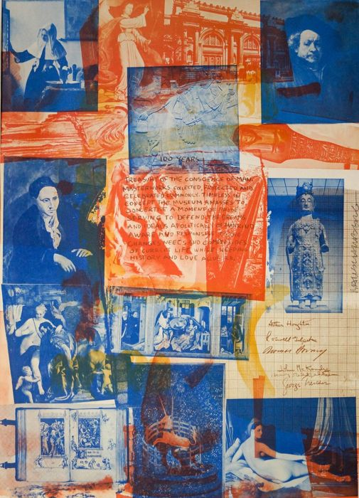 Robert Rauschenberg -  100 Years Treasury of the Conscience of Man