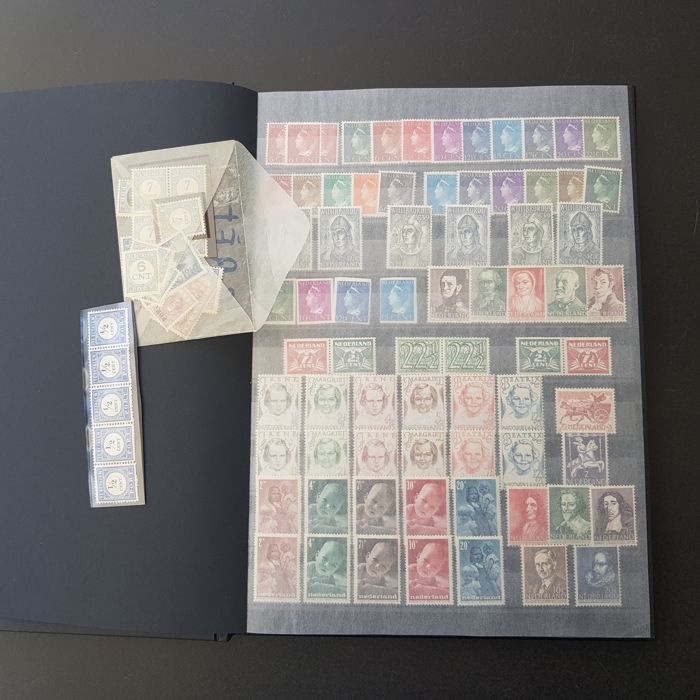 Netherlands 1940/1970 - Party in Stick Book