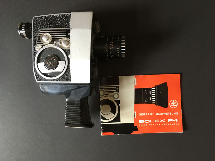 Film camera Bolex P4 Berthiot Pan-Cinor-1-1-9-f-9-36 mm