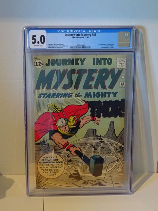Journey Into Mystery #86 - Marvel Comics - 1st appearance of Zarrko - 2nd appearance of Odin. CGC 5.0 - (1962)