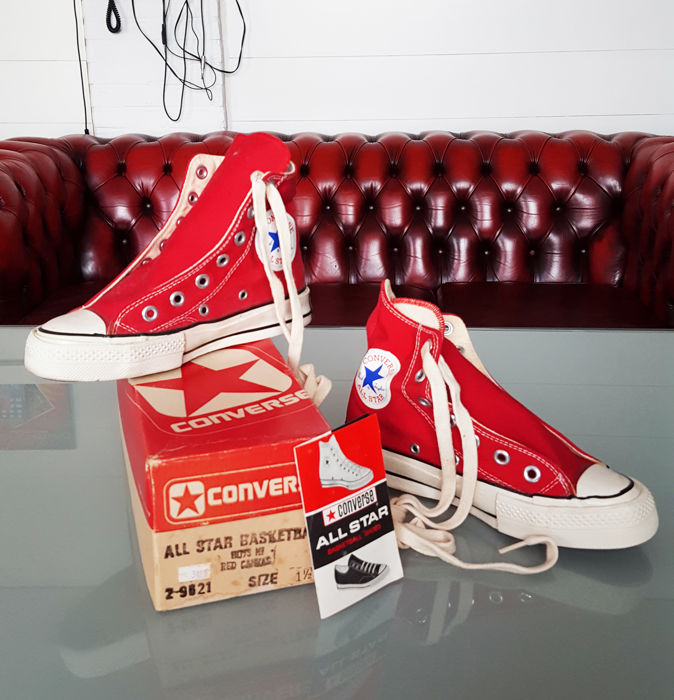 Boxed Mint Chuck Taylor Converse All Star (70's) - Sneaker - Vintage