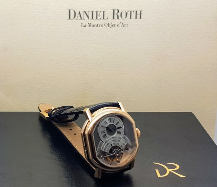 Daniel Roth - Regulateur Tourbillon Pink Gold Limited Edition - n°124 Power Reserve - Unisex - 1990-1999
