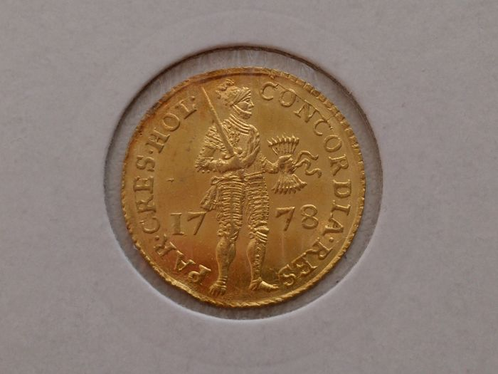 The Netherlands - Holland - Ducat 1778 - gold