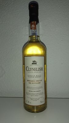 Clynelish cask strength - available only at the distillery